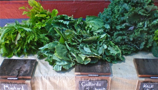 Think ahead to have tasty greens in the winter