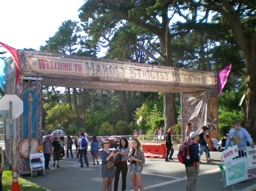 The festival entrance