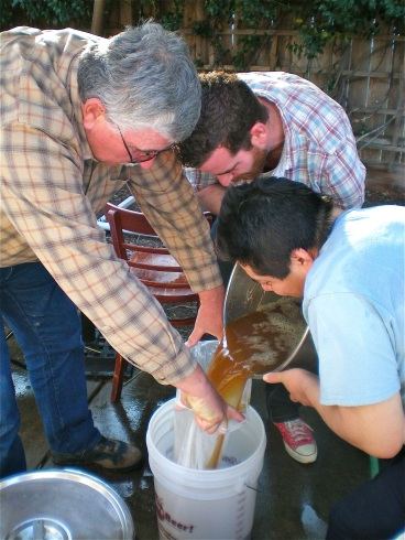 Everybody getting involved in the annual Thanksgiving Brew