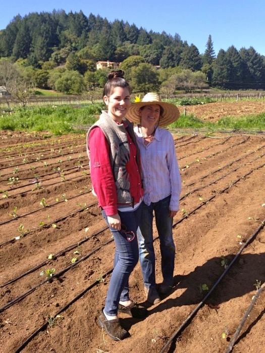 Me and Rebecca Bozzelli